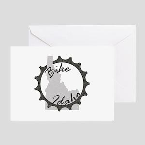 Bike Idaho Greeting Card