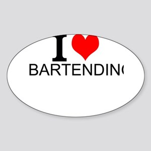 I Love Bartending Sticker