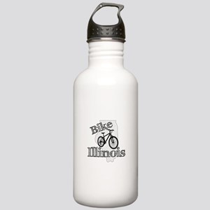 Bike Illinois Stainless Water Bottle 1.0L
