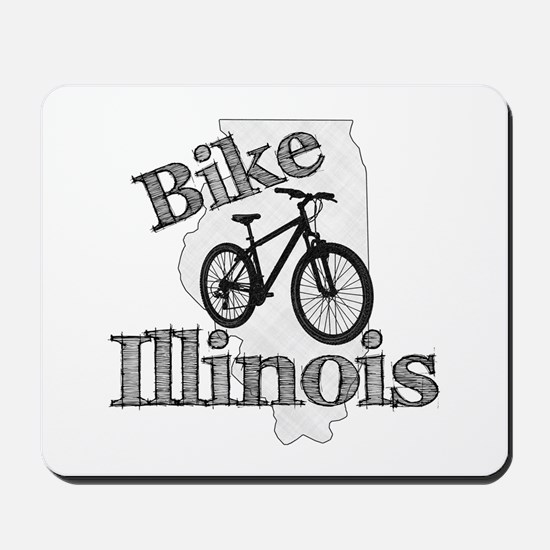 Bike Illinois Mousepad