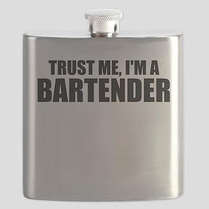 Trust Me, I'm A Bartender Flask