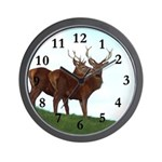 2 Bucks Wall Clock