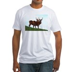 2 Bucks Fitted T-Shirt
