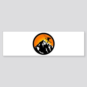 SKIING Bumper Sticker