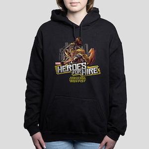 Power Man & Iron Fist He Women's Hooded Sweatshirt