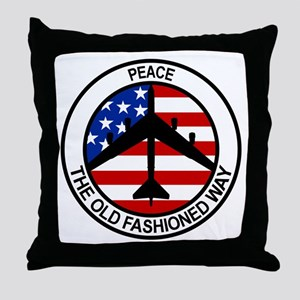 b-52 stratofortress Throw Pillow