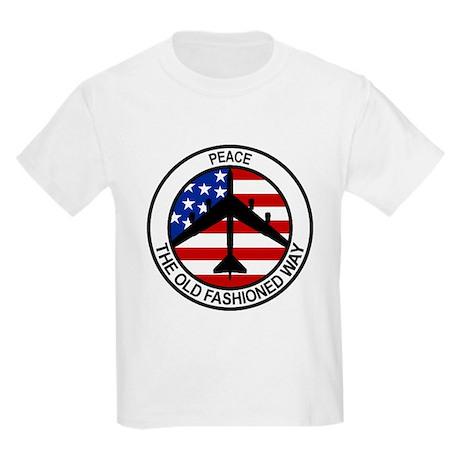 b-52 stratofortress Kids Light T-Shirt