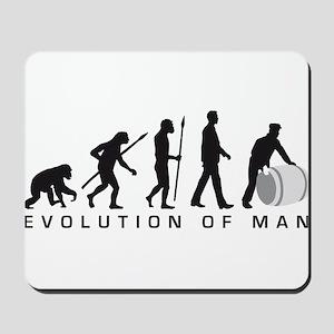 Evolution of man harbour worker Mousepad