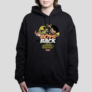 Power Man & Iron Fist Bo Women's Hooded Sweatshirt