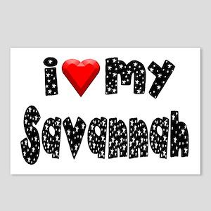 Savannah Postcards (Package of 8)