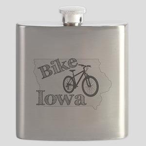 Bike Iowa Flask
