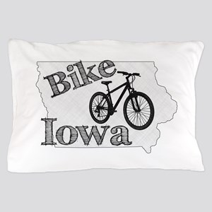 Bike Iowa Pillow Case