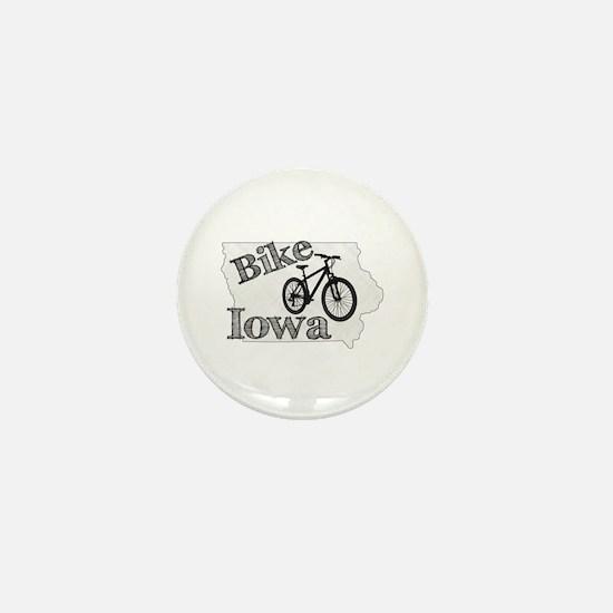 Bike Iowa Mini Button