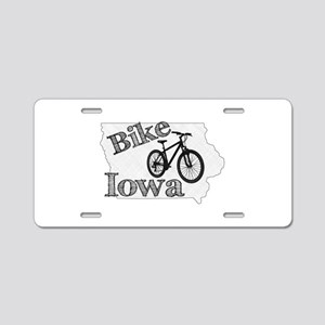 Bike Iowa Aluminum License Plate