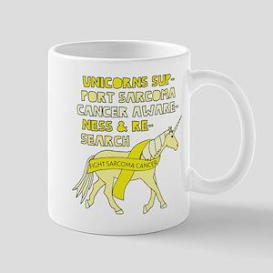 Unicorns Support Sarcoma Cancer Awareness Mugs