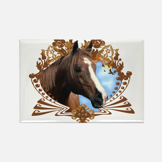 Horse Head Crest Magnets