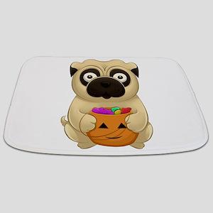 A Pug Halloween Bathmat
