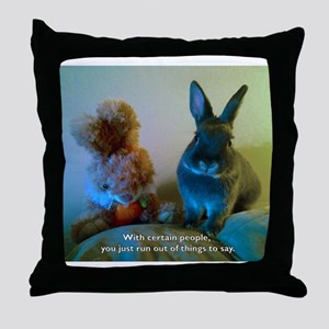 You just run out of Throw Pillow