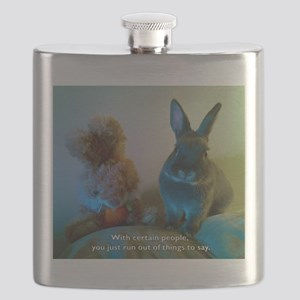 You just run out of Flask