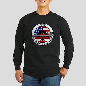 b-52 stratofortress Long Sleeve Dark T-Shirt