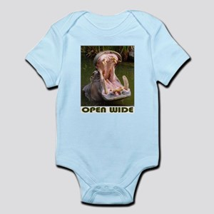 Hippo - Open Wide - Infant Bodysuit