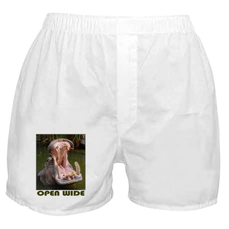 Hippo - Open Wide - Boxer Shorts