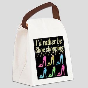 SHOE QUEEN Canvas Lunch Bag