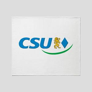 Christian Social Union Throw Blanket