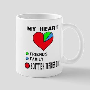 My Heart, Friends, Family, Scott 11 oz Ceramic Mug