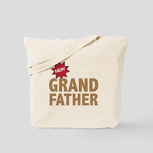 New Grandfather Grandchild Family Tote Bag
