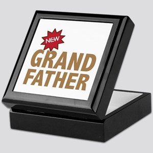 New Grandfather Grandchild Family Keepsake Box