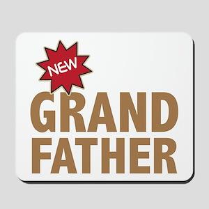 New Grandfather Grandchild Family Mousepad