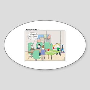 Marketing-in-the-box Sticker