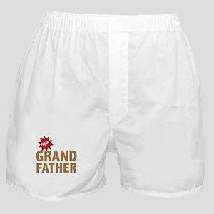 New Grandfather Grandchild Family Boxer Shorts