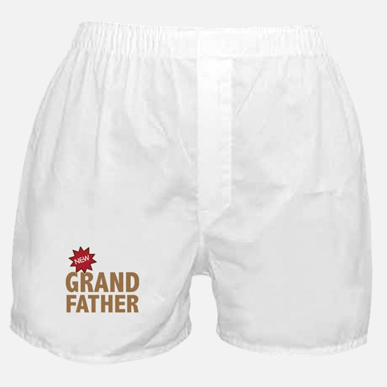 New Grandfather Grandchild Family Boxer Shorts