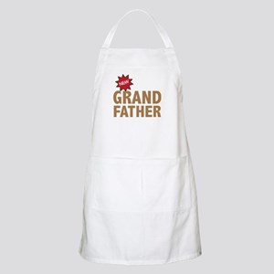 New Grandfather Grandchild Family BBQ Apron