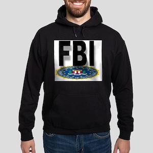 FBI Seal With Text Hoodie (dark)