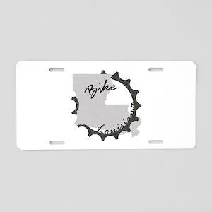 Bike Louisiana Aluminum License Plate