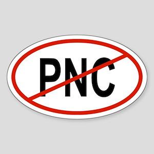 PNC Oval Sticker