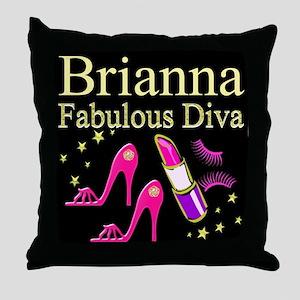 TRENDY DIVA Throw Pillow