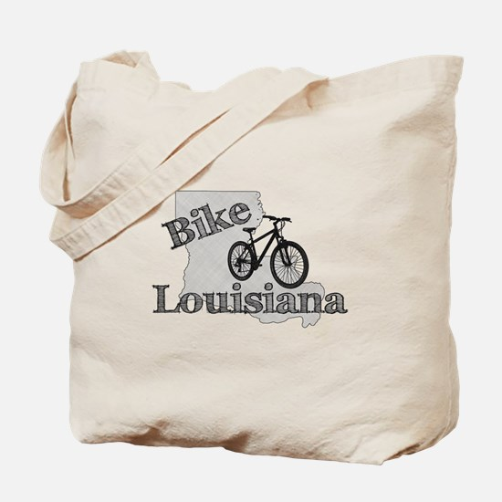 Bike Louisiana Tote Bag
