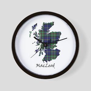 Map - MacLeod Wall Clock