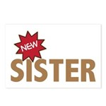 New Sister Sis Big Little Family Postcards (Packag