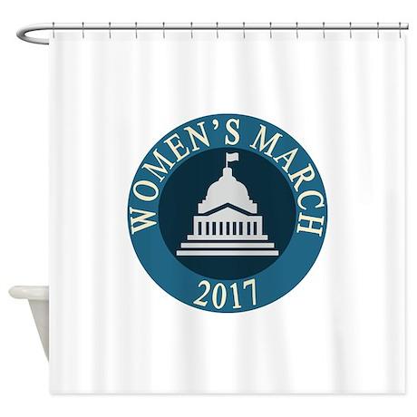 women march Shower Curtain