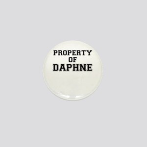 Property of DAPHNE Mini Button