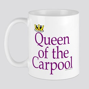 QUEEN OF THE CARPOOL Mug