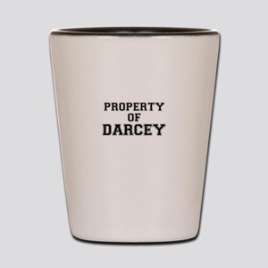 Property of DARCEY Shot Glass