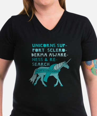 Unicorns Support Scleroderma Awareness T-Shirt