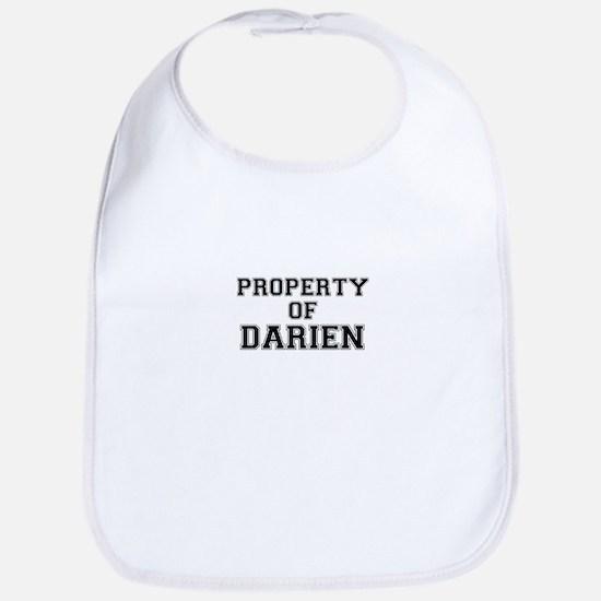 Property of DARIEN Bib