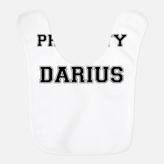 Property of DARIUS Polyester Baby Bib